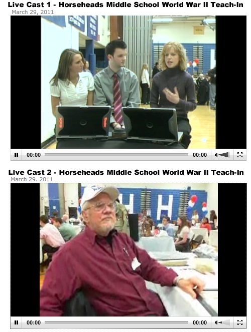image of simultaneous livecasts